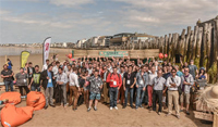 Startup on the beach de St-Malo